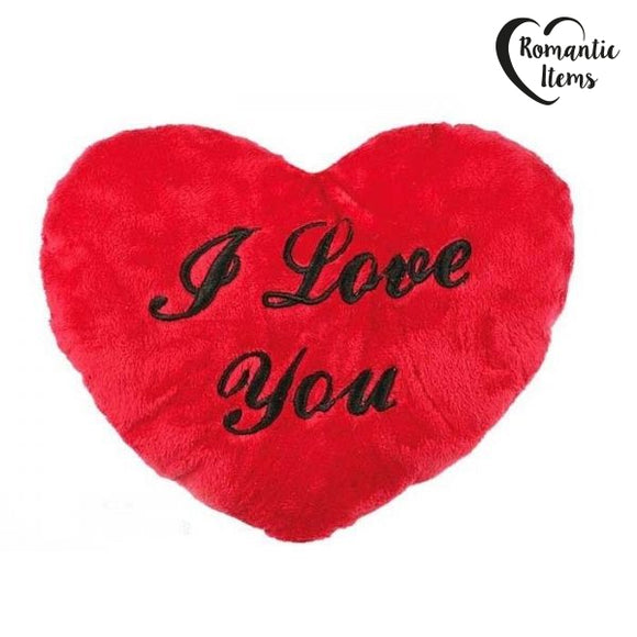 I Love You XL Plush Heart (60 cm)