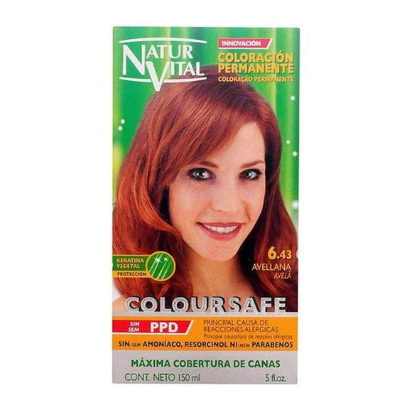Dye No Ammonia Coloursafe Naturaleza y Vida Hazelnut