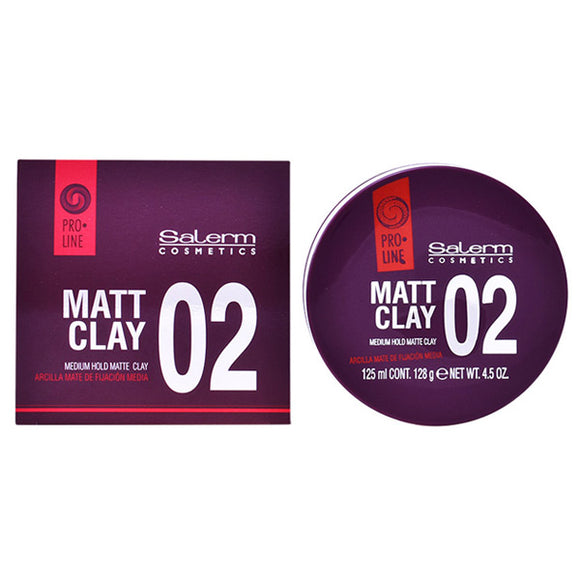 Hair Paste Matt Clay Salerm (125 ml)