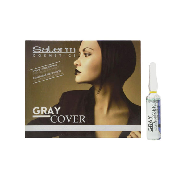 Grey Hair Concealing Ampules Gray Cover Salerm (5 ml)