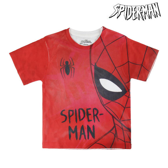 Child's Short Sleeve T-Shirt Spiderman 72630