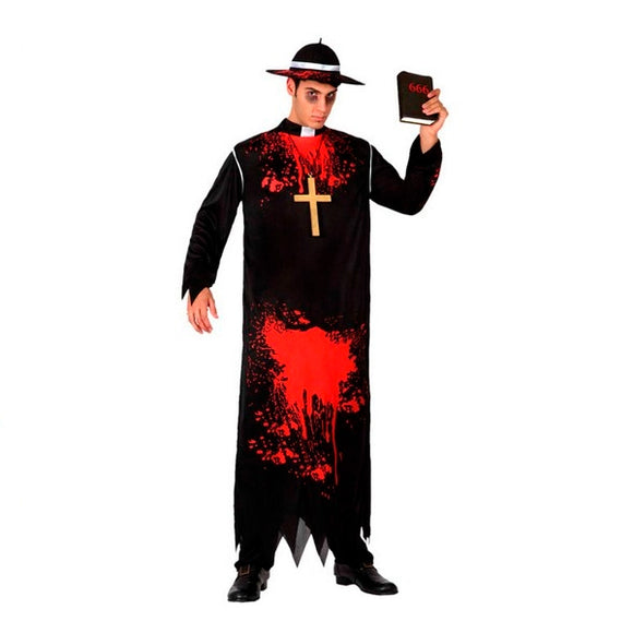 Costume for Adults Priest Bloody (1 Pcs)
