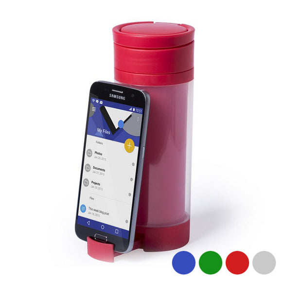Polypropylene Drink Bottle with Mobile Support (390 ml) 145498