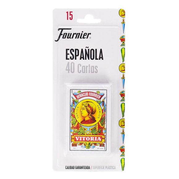Pack of Spanish Playing Cards (40 Cards) Fournier