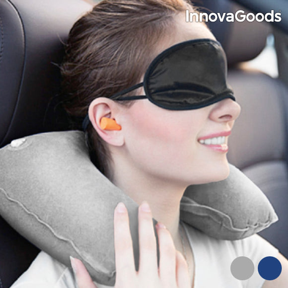 InnovaGoods Travel Relaxation Kit