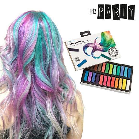 Th3 Party Hair Chalk (Pack of 24)