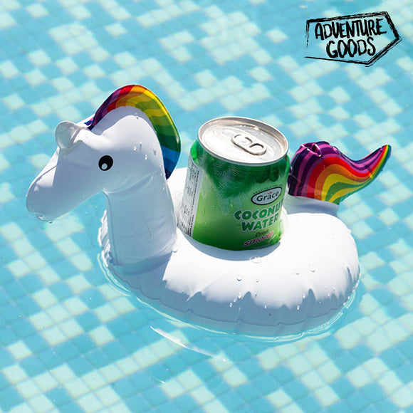 Adventure Goods Unicorn Inflatable Drinks Holder
