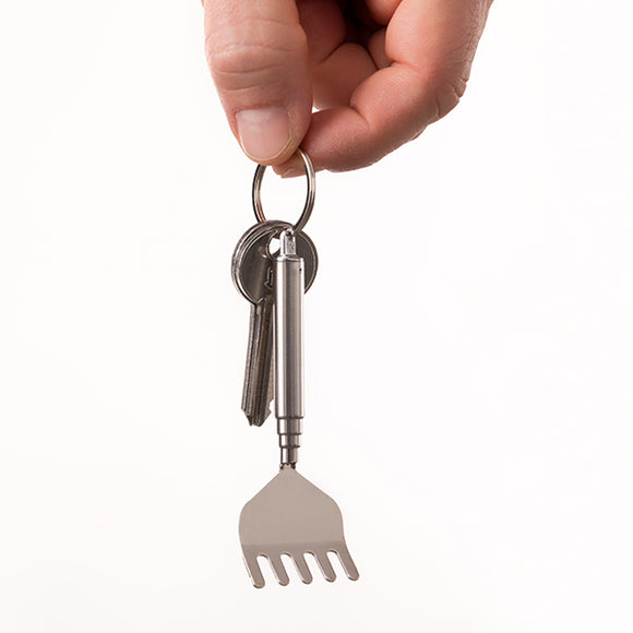 Extendable Back Scratcher Key Ring