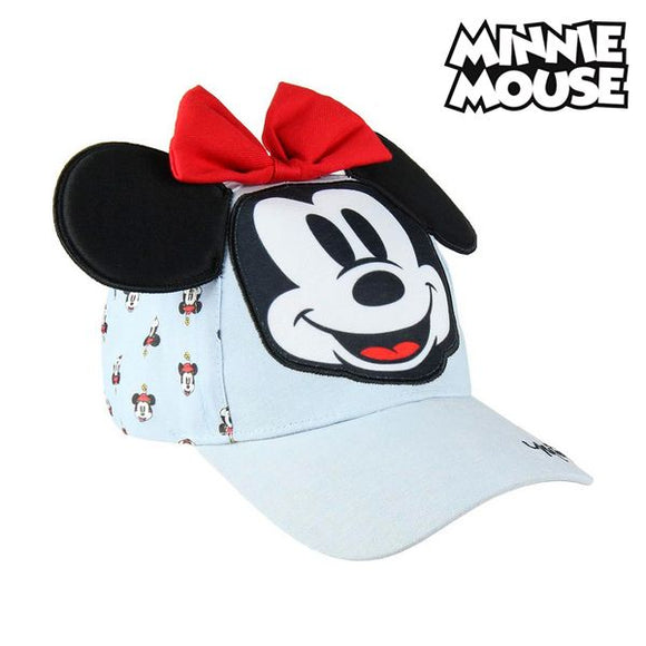 Child Cap 3d Minnie Mouse 75313 Light blue (53 Cm)
