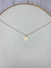 Load image into Gallery viewer, Evil Eye Coin Necklace