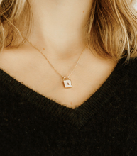 Load image into Gallery viewer, Harlow Lock Necklace