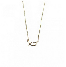 Load image into Gallery viewer, XO Mini Necklace