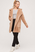 Load image into Gallery viewer, Camel Coat