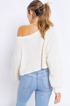 Load image into Gallery viewer, Dixie Cropped Sweater