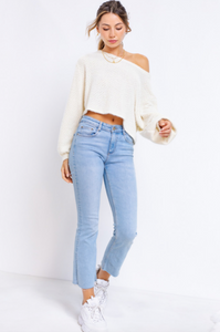 Dixie Cropped Sweater