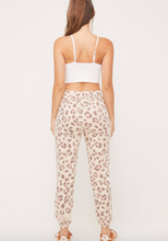 Load image into Gallery viewer, Blush Leopard Joggers