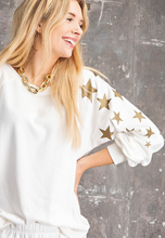 Load image into Gallery viewer, Gold Star Sweatshirt