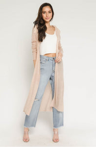 Blush Duster Cardigan