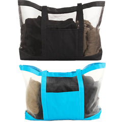 Large Mesh Shoulder Beach Tote Bag