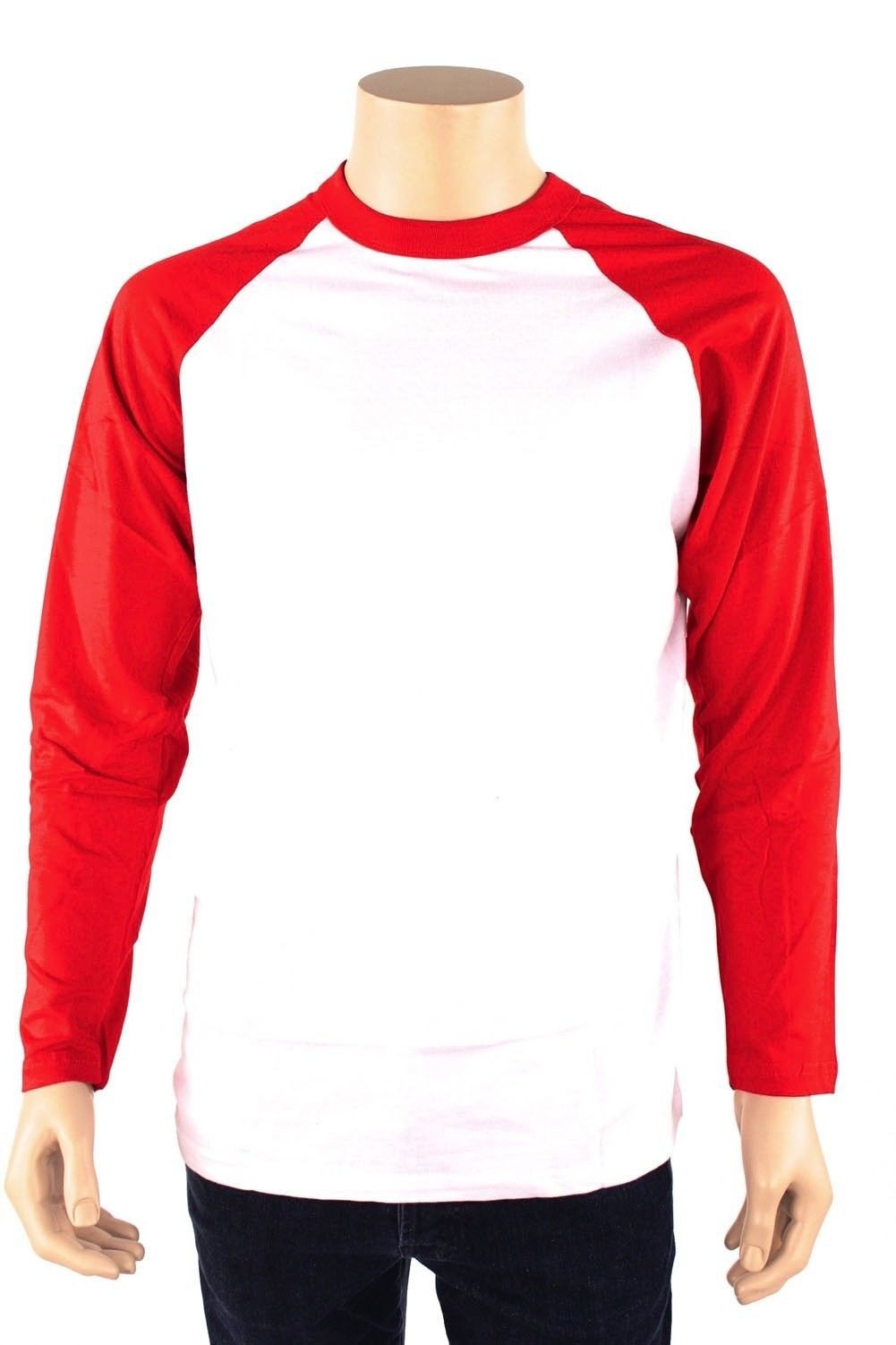 Men's Long Sleeve Raglan Baseball Shirt