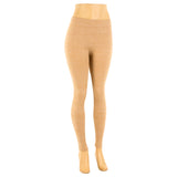 Women's Plus Size Fleece Lined Heather Color Leggings