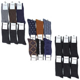 Men's 6 Pack of Dress Socks