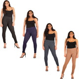 Women's Plus Size Denim Legging Stretchy Slim Fit Pants
