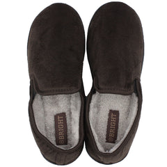 Men's Faux Fur Lined Indoor / Outdoor Slippers