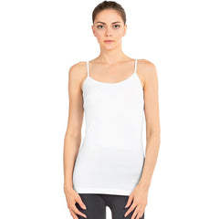 Sofra Women's Stretch Camisole Cami Tank Top