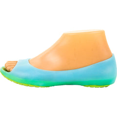 Womens Cushion Sole Jelly Ballet Flats