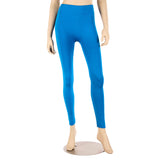 Women's Fleece Lined Solid Color Full Length Leggings