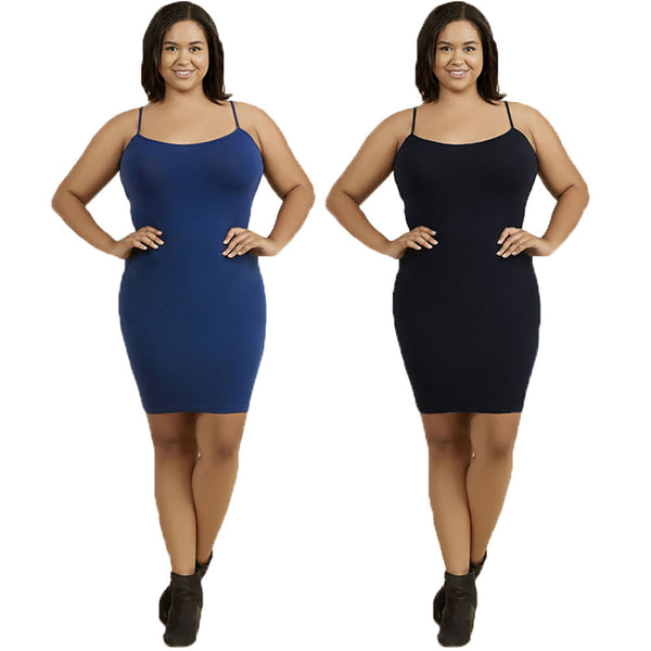 Women's Plus Size Camisole Dress Slip