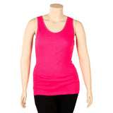 Women's Plus Size Nylon Racerback Tank Top