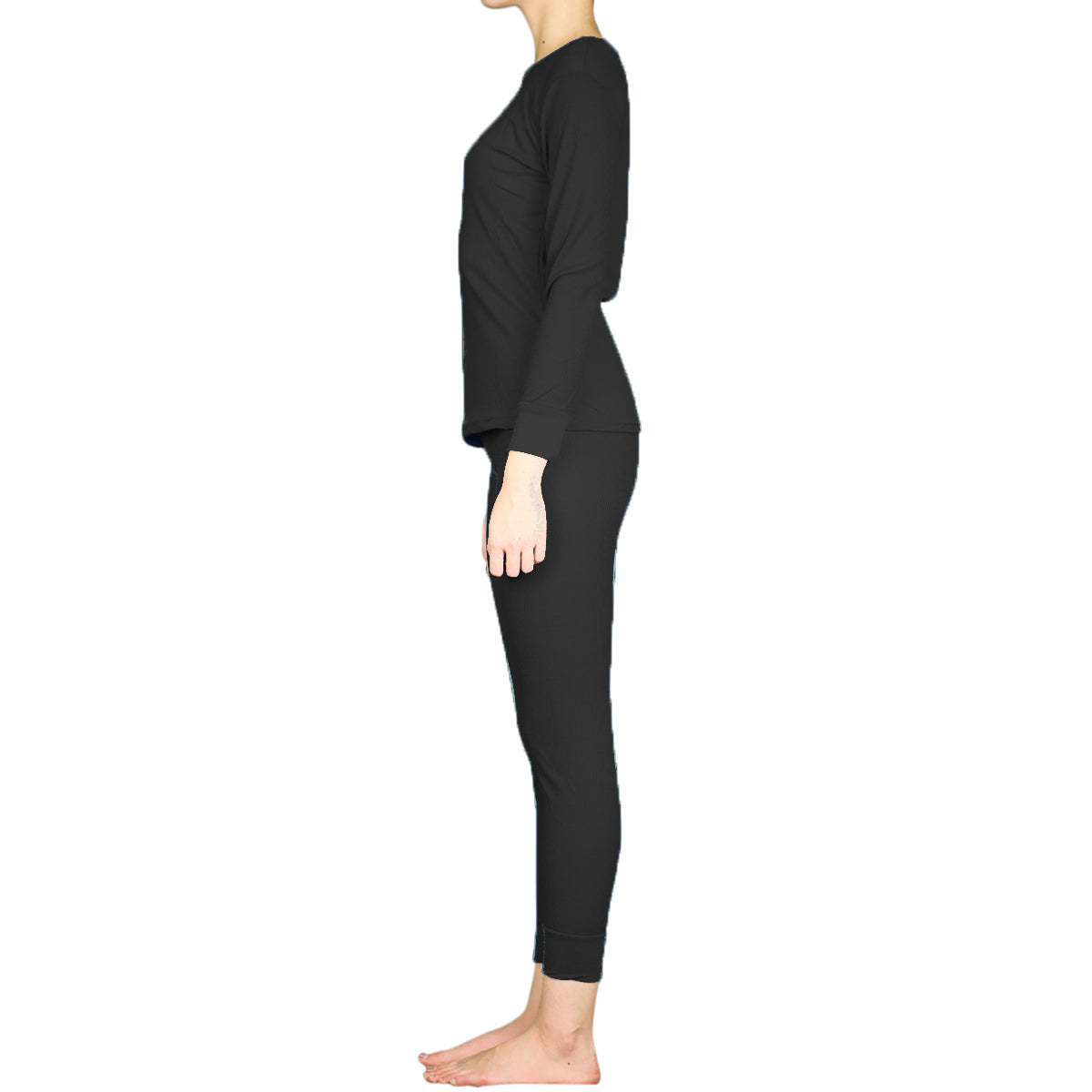 LAVRA Women's 100% Cotton Thermal Sets Underwear Two Piece Long Johns Loungewear