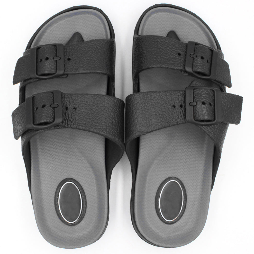 Men's Classic Double Strap Buckle Sandals