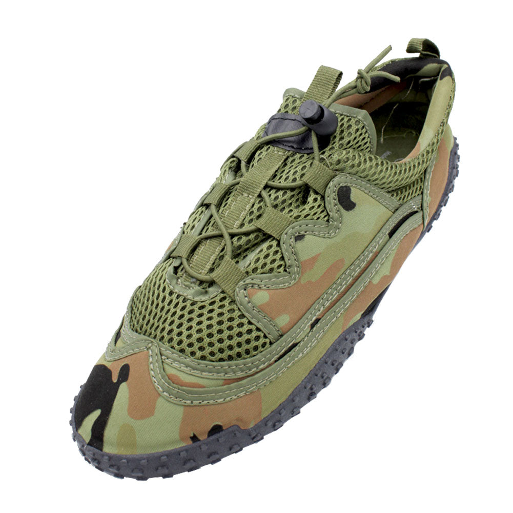 Men's Camo Slip On Aqua Socks Water Shoes