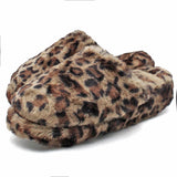 Women's Plus Size Fleece Full Length Solid Color Leggings