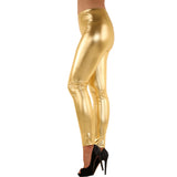 Women's Metallic Shiny Leggings