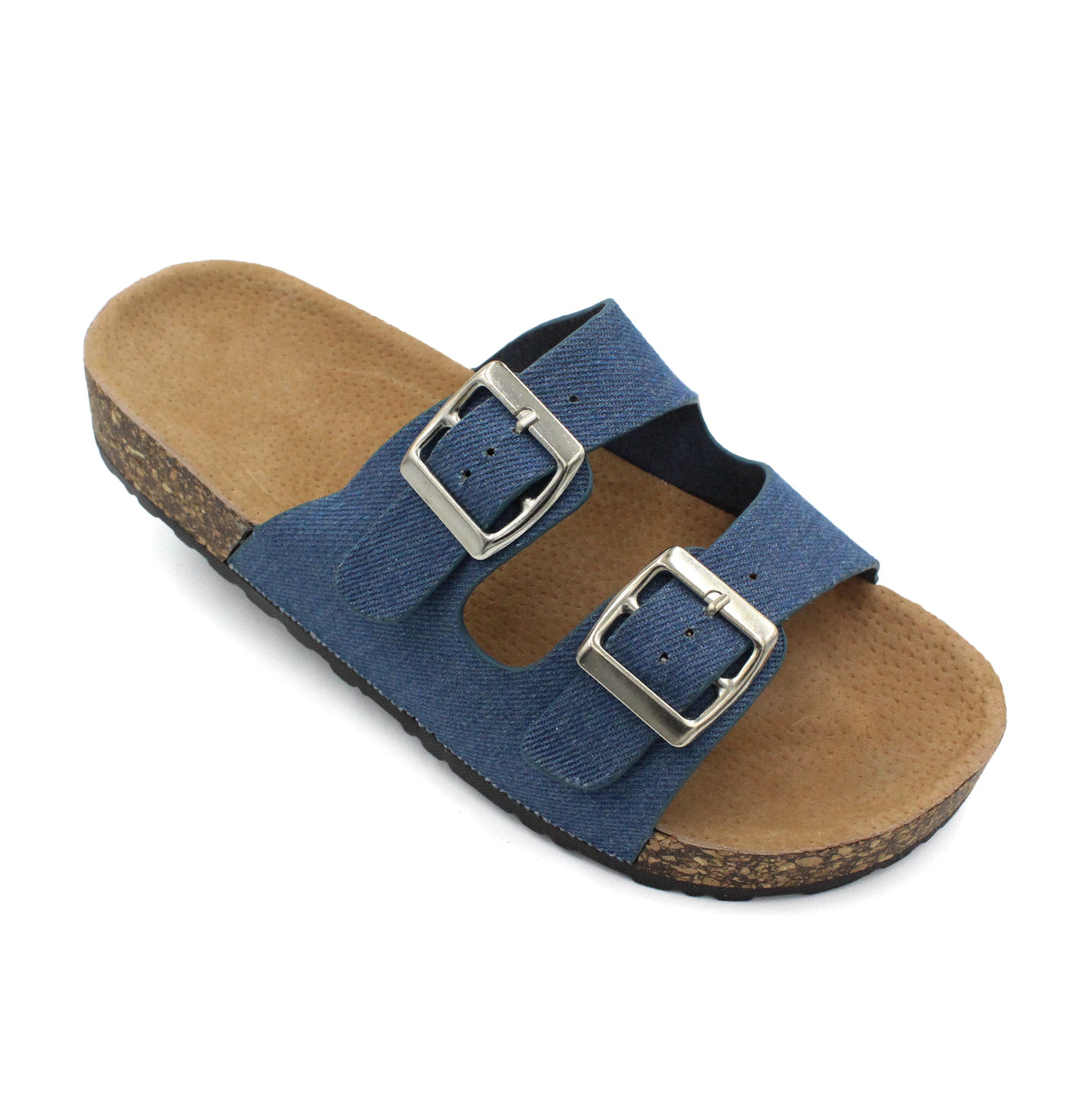 Women's Classic Double Strap Buckle Sandals