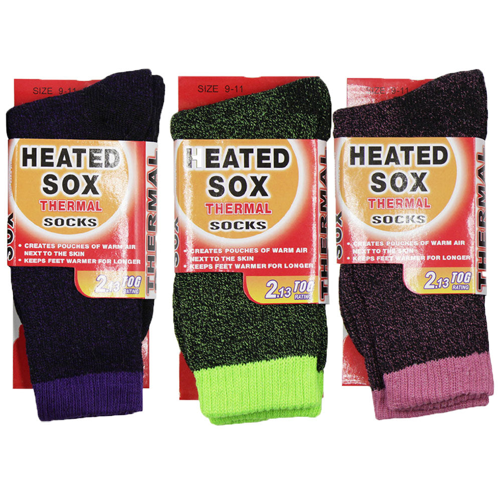 Women's Pair of Insulated Thermal Socks