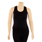 Women's Plus Size Racerback Stretch Tank Top