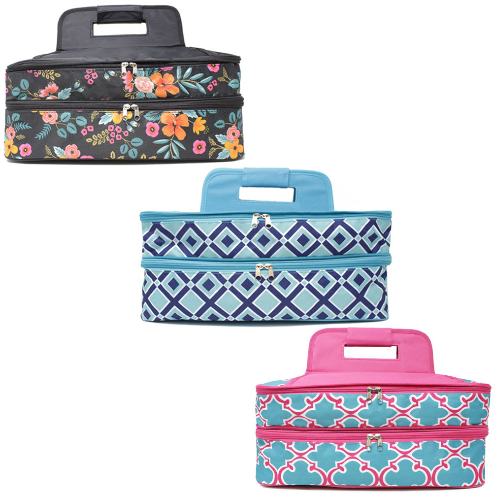 a3fdb5fe9adf7e Insulated Double Casserole Carrier Thermal Bag – Style Like Mine