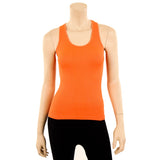 Women's Ribbed Racerback Stretch Tank Top
