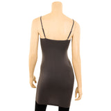 Women's Extra Long Spaghetti Strap Stretch Camisole Tank Top
