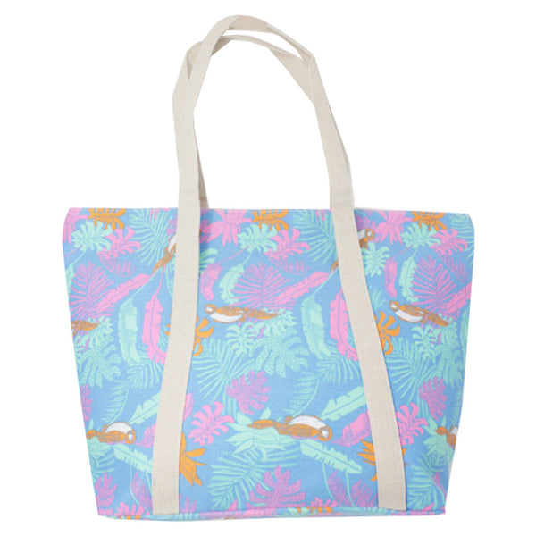 Large Printed Shopper Tote Bag