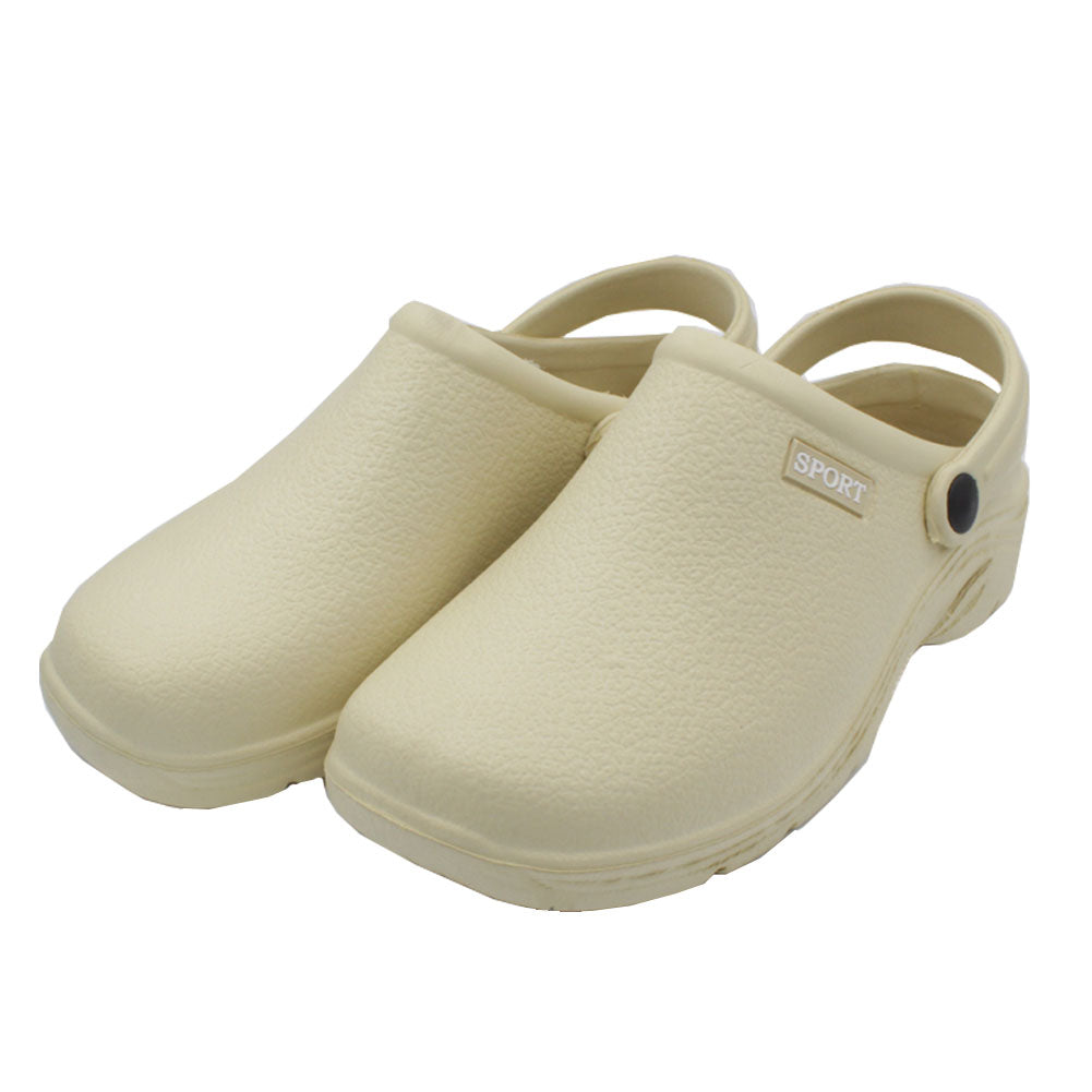 Women's Solid Slingback Garden Clogs Shoes