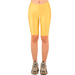 LAVRA Women's Mid Rise Biker Bike Shorts Nylon Legging Fashion Pants