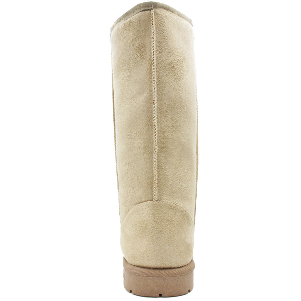 Women's Faux Leather Fur Lined Australian Winter Boots