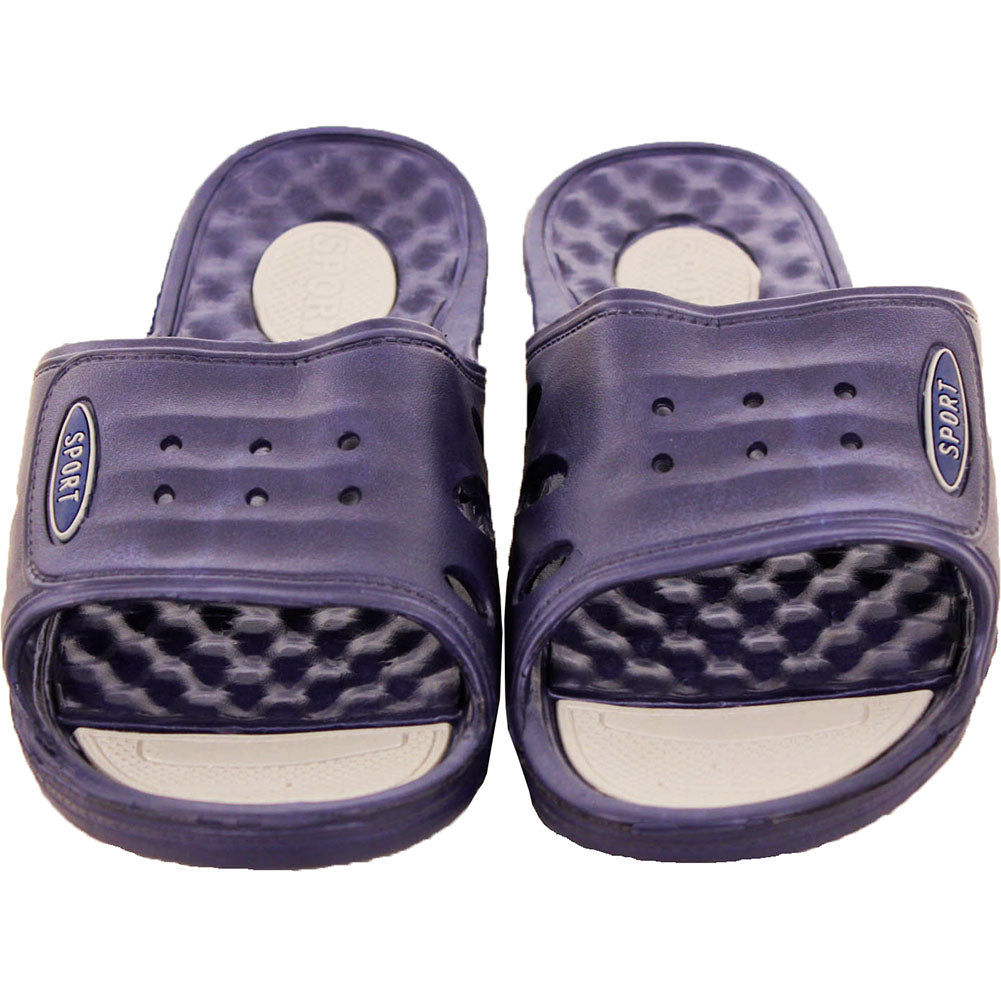 Men's Ventilated Slip On Cushion Sandals