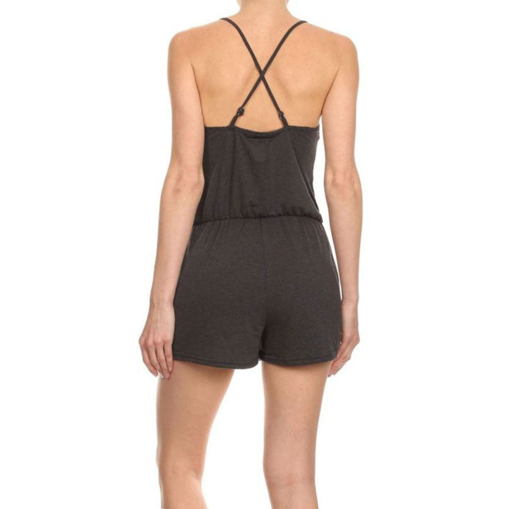 Women's Sleeveless Jumpsuit Romper